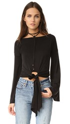 Young Fabulous And Broke Yfb Clothing Largo Top Black