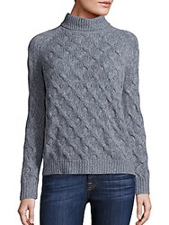 Inhabit Cable Knitted Cashmere Sweater Fennel