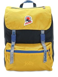 Invicta Jolly Backpack Nylon W Vintage Effect Yellow