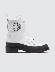 Chloe Roy Ankle Boots White
