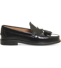 Office Bea Leather Loafers Black Box Leather