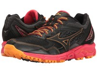 Mizuno Wave Daichi 2 Black Diva Pink Orange Pop Women's Running Shoes
