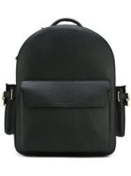 Buscemi Top Zip Backpack Black
