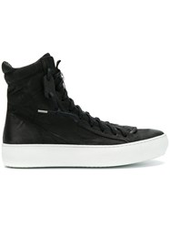 The Last Conspiracy Lace Up Hi Tops Black
