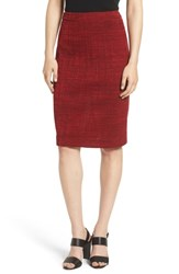 Ming Wang Pencil Skirt Bushberry Black