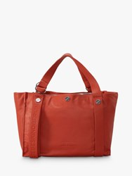 Liebeskind Berlin Large Leather Shopper Bag Red