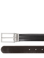 Montblanc Reversible Square Leather Belt