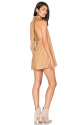 Blue Life Dancing Days Sueded Swing Dress Tan