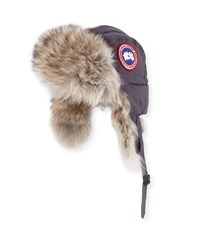 Canada Goose Coyote Fur Aviator Hat Camo Military Grn