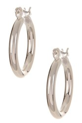 14Th And Union Small Hoop Earrings Metallic