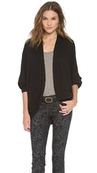 Three Dots Cocoon Cardigan Black