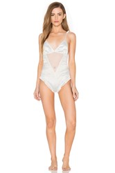 Lovers Friends Simone Bodysuit White