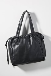 Anthropologie Ewan Drawstring Tote Bag Black