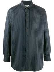 Acne Studios Atlent Striped Shirt Blue