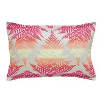 Clarissa Hulse Filix Coral Pillowcase Oxford