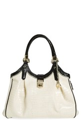 Brahmin 'Tri Texture Elisa' Leather Shoulder Bag