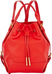 Opening Ceremony Izzy Convertible Backpack Red