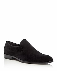 Hugo Boss Dressapp Velvet Loafers Black