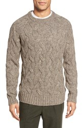 Bonobos Men's Cable Knit Crewneck Sweater