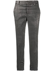 Pt01 Grid Check Cropped Trousers 60