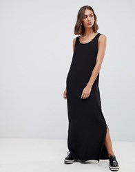Minimum Maxi Dress With Side Splits Black