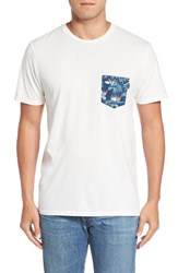 Rip Curl Men's Values Pocket T Shirt White