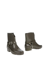 Marc By Marc Jacobs Ankle Boots Military Green
