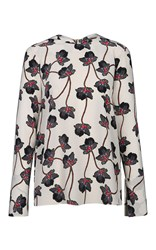 Dorothee Schumacher Unexpected Blossom Blouse Nude