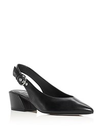 Marc Fisher Ltd. Fancy Pointed Toe Slingback Pumps Black