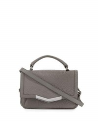 Time's Arrow Helene Micro Leather Satchel Bag Astral