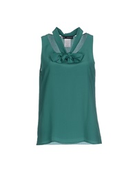 Dsquared2 Tops Emerald Green