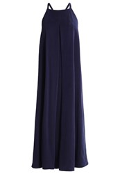 Filippa K Maxi Dress Navy Blue