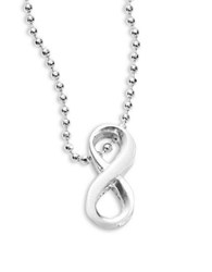 Alex Woo Infinity Icon Necklace Silver