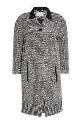 Carven Tweed Coat