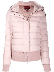 Parajumpers Quilted Down Jacket Pink