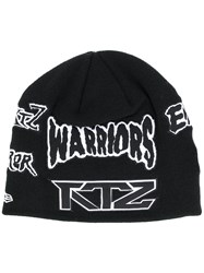 Ktz Multi Patch Beanie Black