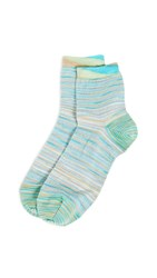 Missoni Short Socks Blue Multi