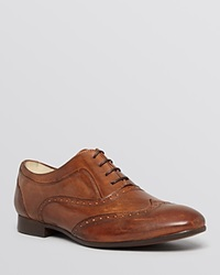 H By Hudson Francis Leather Wingtip Oxfords
