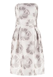 Dorothy Perkins Cocktail Dress Party Dress Metallic Silver