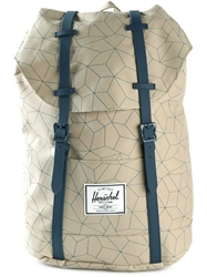 Herschel Supply Co. Double Buckle Backpack Nude And Neutrals