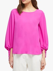 French Connection Crepe Puff Sleeve Blouse Pure Passion