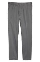 Nordstrom 'S Men's Shop Athletic Fit Non Iron Chinos Grey Gate