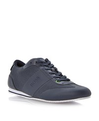 Hugo Boss Lace Up Casual Trainers Navy