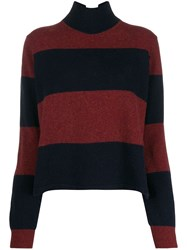 Paul Smith Ps Large Stripes Jumper Blue
