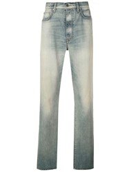 Amiri Stack Loose Jeans Blue