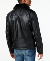 Levi's Men's Faux Leather Jacket Black