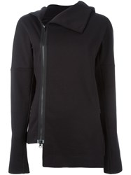 Y 3 Asymmetric Zipped Sweatshirt Black