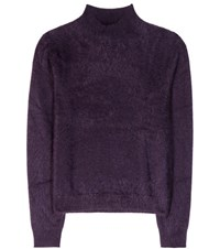 81 Hours Cit Cashmere Sweater Purple