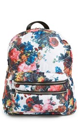 Dolce Girl 'Dome' Floral Print Quilted Backpack