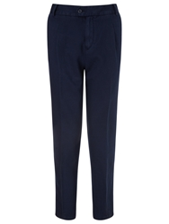 Collection Weekend By John Lewis Linen Cotton Blend Chinos Navy